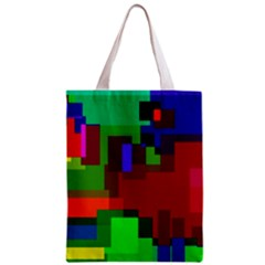 Pattern All Over Print Classic Tote Bag
