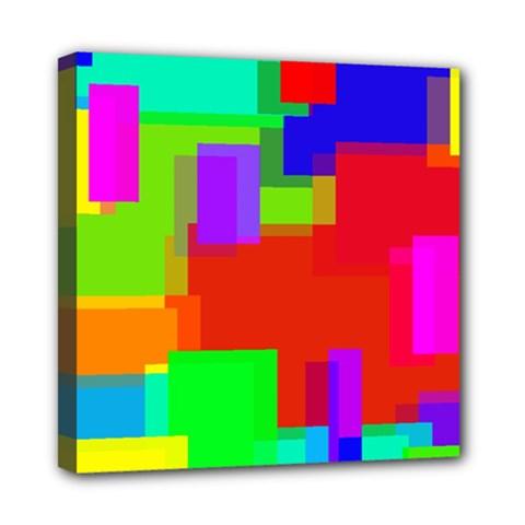Pattern Mini Canvas 8  X 8  (framed)