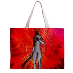 White Knight All Over Print Tiny Tote Bag