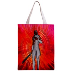 White Knight All Over Print Classic Tote Bag
