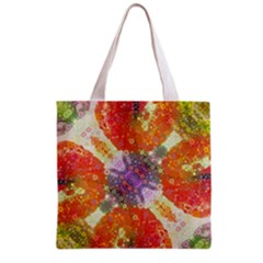 Abstract Lips  All Over Print Grocery Tote Bag