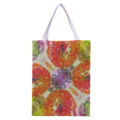 Abstract Lips  All Over Print Classic Tote Bag
