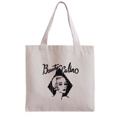 Vintage Beauty  All Over Print Grocery Tote Bag