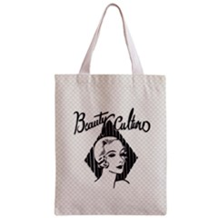 Vintage Beauty  All Over Print Classic Tote Bag