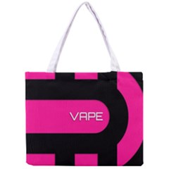Hot Pink Black Vape  All Over Print Tiny Tote Bag