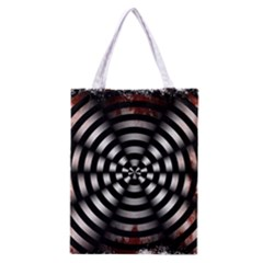 Zombie Apocalypse Warning Sign All Over Print Classic Tote Bag