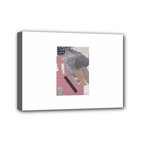 Clarissa On My Mind Mini Canvas 7  X 5  (framed)