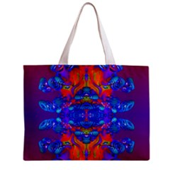 Abstract Reflections All Over Print Tiny Tote Bag