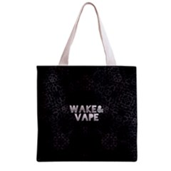 Wake&vape Leopard  All Over Print Grocery Tote Bag