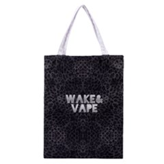 Wake&vape Leopard  All Over Print Classic Tote Bag
