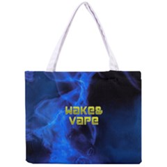 Wake&vape Blue Smoke  All Over Print Tiny Tote Bag