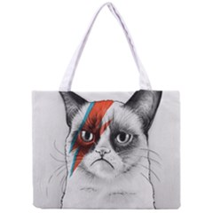 Grumpy Bowie All Over Print Tiny Tote Bag