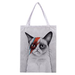 Grumpy Bowie All Over Print Classic Tote Bag