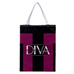 Pink Diva  All Over Print Classic Tote Bag
