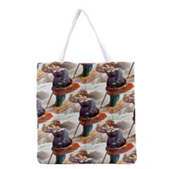 Pure And Healthy Soaps All Over Print Grocery Tote Bag
