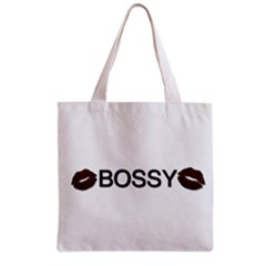 Bossy Lips  All Over Print Grocery Tote Bag