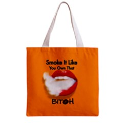 Vape Mouth Smoke Own That All Over Print Grocery Tote Bag