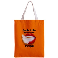 Vape Mouth Smoke Own That All Over Print Classic Tote Bag
