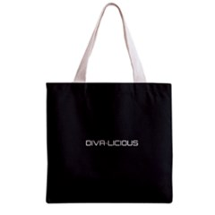Diva Licious  All Over Print Grocery Tote Bag