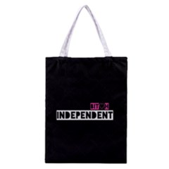 Independent Bit H All Over Print Classic Tote Bag