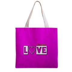 Love Yo self  All Over Print Grocery Tote Bag