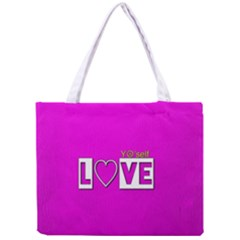 Love Yo self  All Over Print Tiny Tote Bag