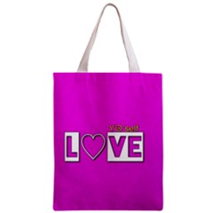 Love Yo self  All Over Print Classic Tote Bag