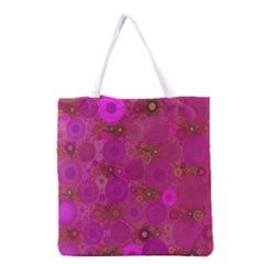 Pinka Dots  All Over Print Grocery Tote Bag