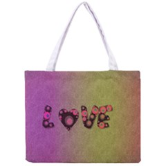 Love Abstract  All Over Print Tiny Tote Bag