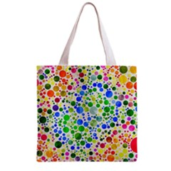 Neon Skiddles All Over Print Grocery Tote Bag