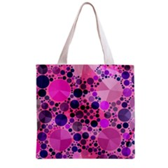 Pink Bling  All Over Print Grocery Tote Bag