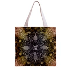 Abstract Earthtone  All Over Print Grocery Tote Bag
