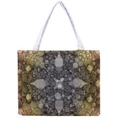 Abstract Earthtone  All Over Print Tiny Tote Bag