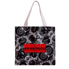 Like A Boss Sassy Lips  All Over Print Grocery Tote Bag