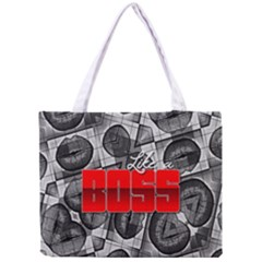 Like A Boss Sassy Lips  All Over Print Tiny Tote Bag