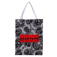 Like A Boss Sassy Lips  All Over Print Classic Tote Bag