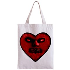 Evil Heart Shaped Dark Monster  All Over Print Classic Tote Bag