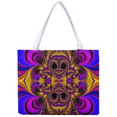 Crazy Abstract  All Over Print Tiny Tote Bag