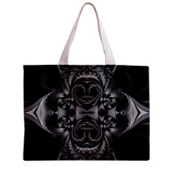 Blackened  All Over Print Tiny Tote Bag