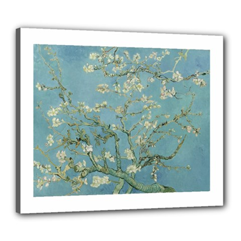 Vincent Van Gogh, Almond Blossom Canvas 24  X 20  (framed)