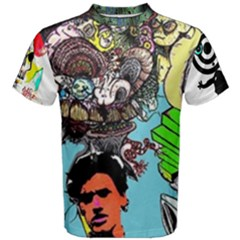old styly All Over Print Coolmax Cotton Tee (Men)