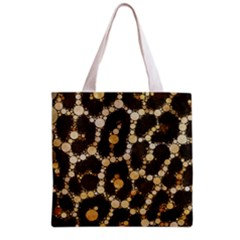 Cheetah Abstract  All Over Print Grocery Tote Bag