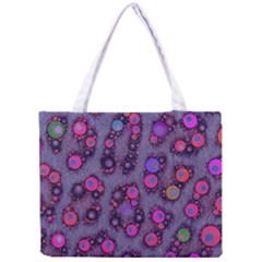 Florescent Cheetah All Over Print Tiny Tote Bag