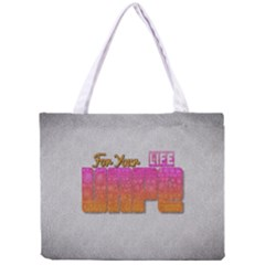 Vape For Your Life Abstract  All Over Print Tiny Tote Bag