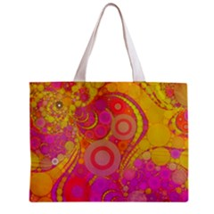 Super Bright Abstract All Over Print Tiny Tote Bag