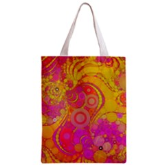 Super Bright Abstract All Over Print Classic Tote Bag