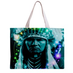 Magical Indian Chief All Over Print Tiny Tote Bag
