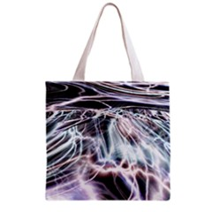 Solar Tide All Over Print Grocery Tote Bag