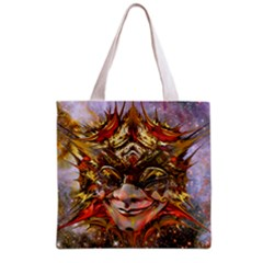 Star Clown All Over Print Grocery Tote Bag