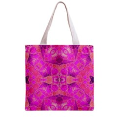 Beautiful Pink Coral  All Over Print Grocery Tote Bag